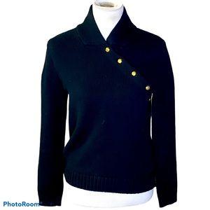 Lauren by Ralph Lauren long sleeve sweater black S